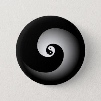 Bóton Redondo 5.08cm Botão de Yin
