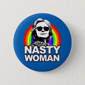 Bóton Redondo 5.08cm Botão desagradável da mulher de Hillary Clinton
