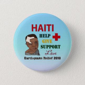Bóton Redondo 5.08cm Botão do alivio 2010 do terremoto de Haiti