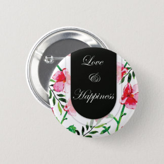 Bóton Redondo 5.08cm botão do amor