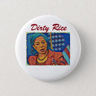 Bóton Redondo 5.08cm Botão do arroz de Susan - arroz sujo