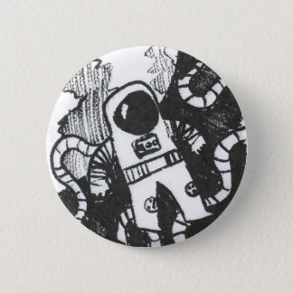 Bóton Redondo 5.08cm Botão do astronauta