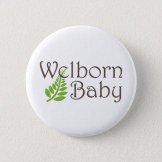 Bóton Redondo 5.08cm Botão do bebê de Welborn