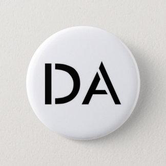 Bóton Redondo 5.08cm Botão do branco da Dinamarca