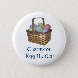 Bóton Redondo 5.08cm Botão do caçador do ovo do campeão