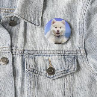 Bóton Redondo 5.08cm Botão do cão de filhote de cachorro