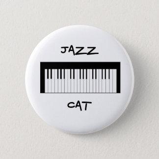 Bóton Redondo 5.08cm Botão do CAT do jazz