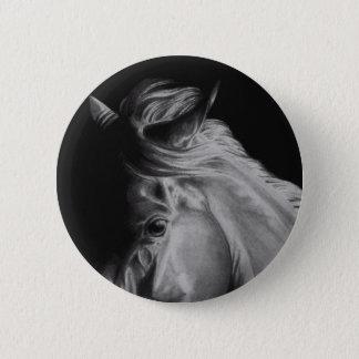 Bóton Redondo 5.08cm Botão do cavalo