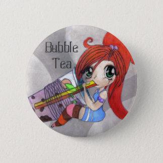 Bóton Redondo 5.08cm Botão do chá da bolha
