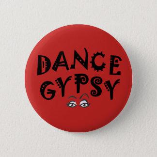 Bóton Redondo 5.08cm Botão do cigano da dança