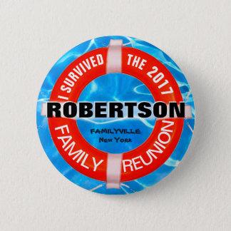 Bóton Redondo 5.08cm Botão do costume da reunião de família
