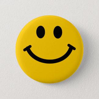 Bóton Redondo 5.08cm Botão do crachá do smiley
