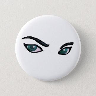 Bóton Redondo 5.08cm Botão do desenhista do espião do olho