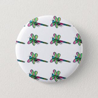 Bóton Redondo 5.08cm Botão do design da libélula