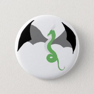 Bóton Redondo 5.08cm Botão do dragão de Agender