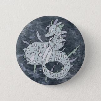 Bóton Redondo 5.08cm Botão do dragão do mar