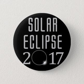 Bóton Redondo 5.08cm Botão do eclipse solar 2017
