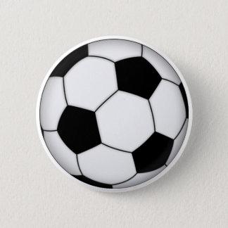 Bóton Redondo 5.08cm Botão do futebol