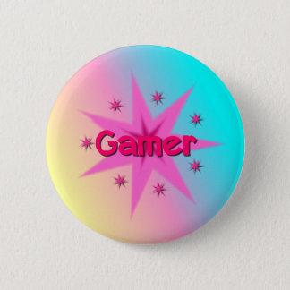 Bóton Redondo 5.08cm Botão do Gamer da menina