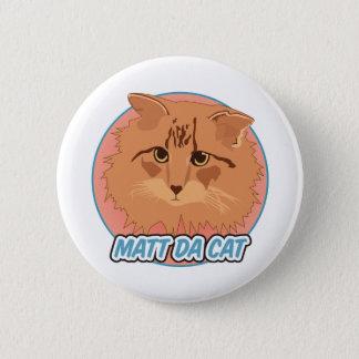 Bóton Redondo 5.08cm Botão do gato de Matt a Dinamarca
