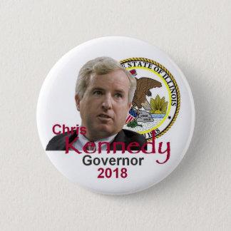 Bóton Redondo 5.08cm Botão do governador de Chris KENNEDY