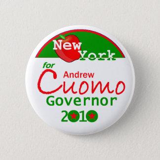 Bóton Redondo 5.08cm Botão do governador de CUOMO