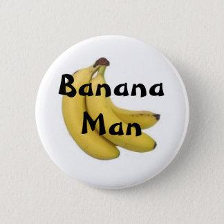 Bóton Redondo 5.08cm Botão do homem da banana