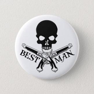 Bóton Redondo 5.08cm Botão do homem do pirata o melhor