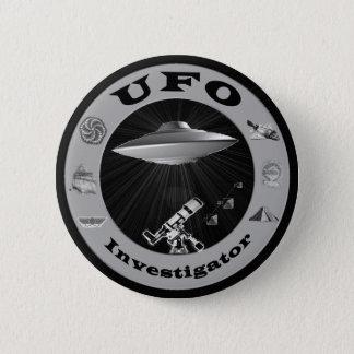 Bóton Redondo 5.08cm Botão do investigador do UFO