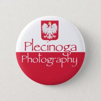 Bóton Redondo 5.08cm Botão do logotipo da fotografia de Plecinoga