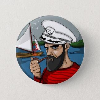 Bóton Redondo 5.08cm Botão do marinheiro do hipster