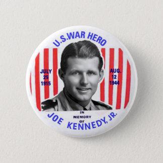 Bóton Redondo 5.08cm Botão do memorial do Jr. de Joe Kennedy