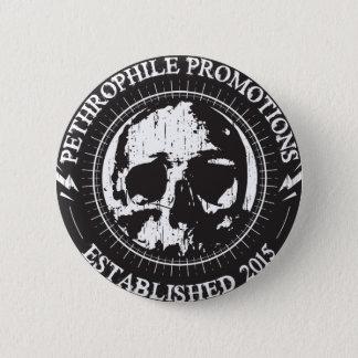 Bóton Redondo 5.08cm Botão do metal pesado das promoções de Pethrophile