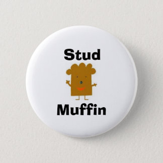 Bóton Redondo 5.08cm Botão do muffin do parafuso prisioneiro