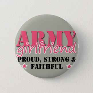Bóton Redondo 5.08cm Botão do namorada do exército