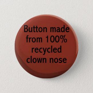Bóton Redondo 5.08cm botão do nariz do palhaço do reciclado de 100%