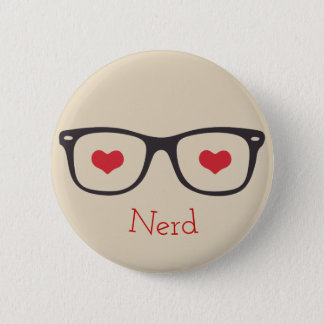 Bóton Redondo 5.08cm Botão do nerd - vidros bonitos