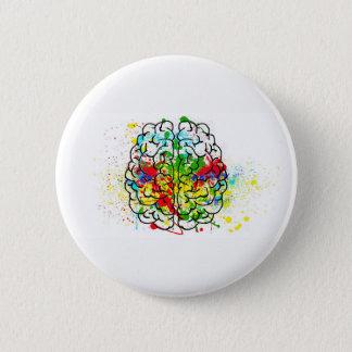 Bóton Redondo 5.08cm botão do neurodivergence