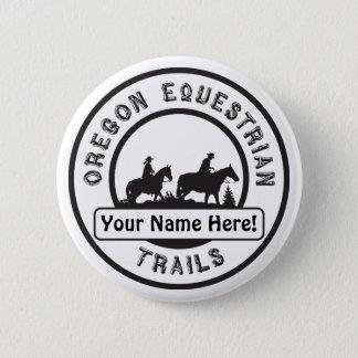 Bóton Redondo 5.08cm Botão do nome de etiqueta - personalize-o!