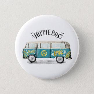 Bóton Redondo 5.08cm Botão do ônibus do Hippie