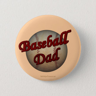 Bóton Redondo 5.08cm Botão do pai do basebol