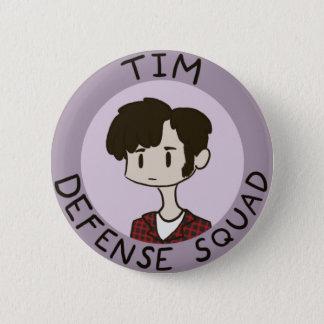 Bóton Redondo 5.08cm Botão do pelotão da defesa de Tim