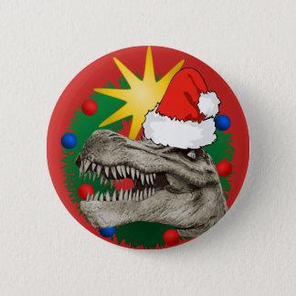 Bóton Redondo 5.08cm Botão do Pin do crachá de Dino do papai noel do