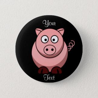 Bóton Redondo 5.08cm Botão do porco