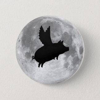 Bóton Redondo 5.08cm botão do porco do vôo da Lua cheia