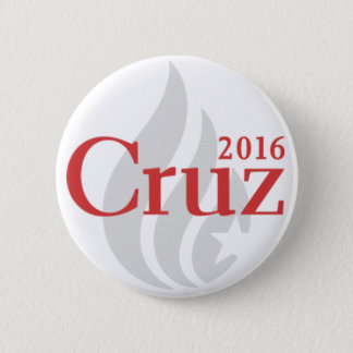Bóton Redondo 5.08cm Botão do presidente de Ted Cruz