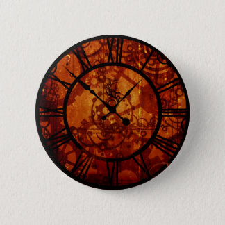 Bóton Redondo 5.08cm Botão do pulso de disparo de Steampunk