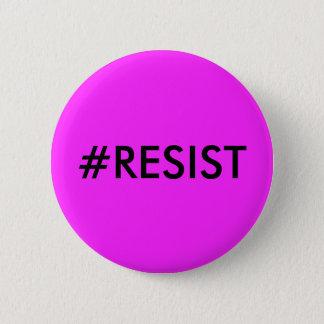 Bóton Redondo 5.08cm Botão do #RESIST