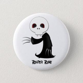 Bóton Redondo 5.08cm Botão do Rune da ceifeira