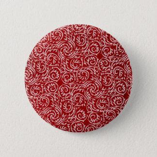 Bóton Redondo 5.08cm Botão do salgueiro branco